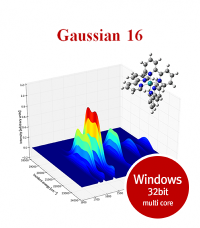 Gaussian16 for Windows 32bit multi core